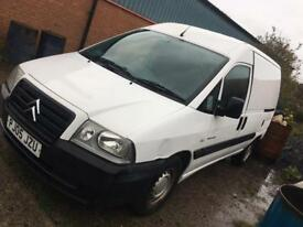 2005 Citroen Dispatch 1.9D 78k no vat