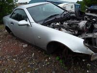 Mercedes SLK 230 1998 2.3 Breaking
