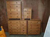 Bedroom furniture Drawer units