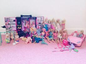 Barbie Dolls & Accessories - Bulk Package