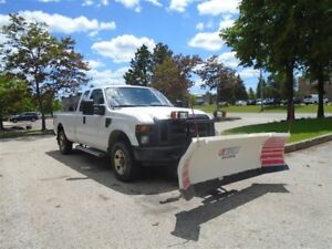 2008 Ford F-250 In box salter, Plow, 4X4, Tow package.