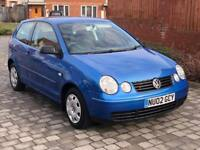 2002 vw polo 3 door stunning blue