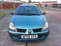 Renault Clio 1.2 Rush 3dr+MOT of 12 Months.lady owner