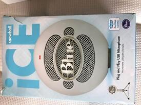 Blue Ice Snowball Microphone