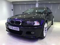 BMW M3 3.2 M3 SMG 2d 338 BHP FREE DELIVERY TO YOUR DOOR (black) 2005