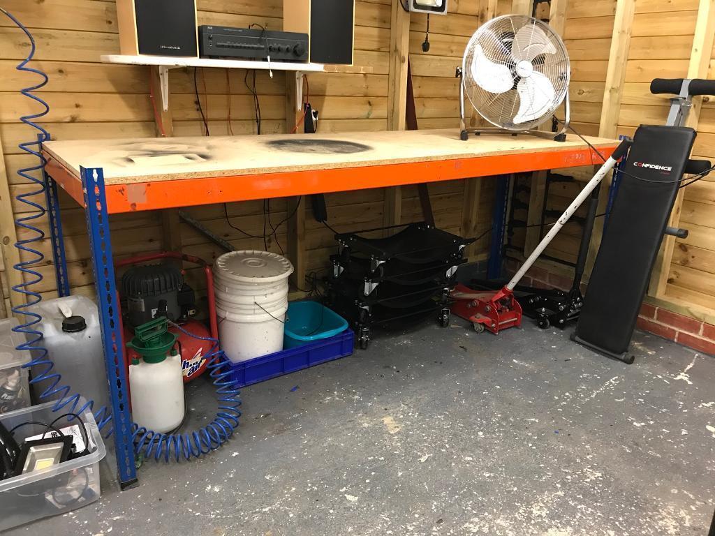 Garage Shed Heavy Duty Workbench In Witney Oxfordshire Gumtree