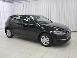 2018 Volkswagen Golf TSI TURBO 5DR HATCH w/ HEATED FRONT SEATS,