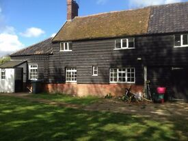 Timbered cottage in secluded rural location
