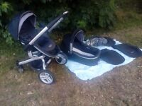 Graco pushchair travel system in good condition