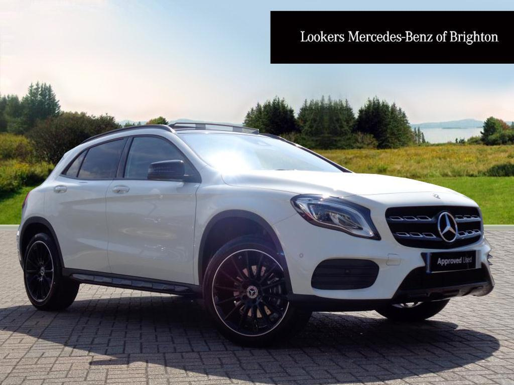 mercedes benz gla class gla 220 d 4matic amg line premium plus white 2017 05 10 in portslade. Black Bedroom Furniture Sets. Home Design Ideas