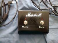 Marshall chorus footswitch
