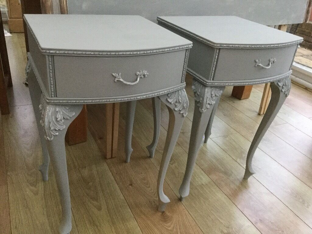 Pair of Louis style vintage bedside tables   in Worthing, West ...