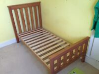 Mothercare Jamestown cotbed in pine in good condition.