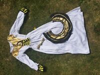 Egyptian fancy dress outfit sz Small (4-7yrs?)