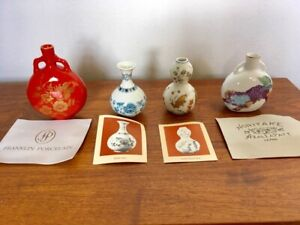 Antique Porcelain Miniatures Collection