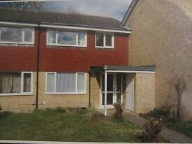 3 Bedroom Staggered Terrace House on Heatherside Camberley with garage.