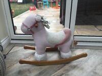Girls baby horse rocker