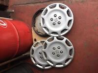 Peugeot 15 inch wheel trims set (4)