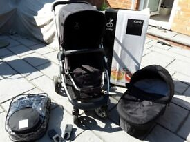 i candy travel system (black)