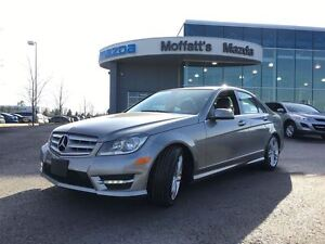 2013 Mercedes-Benz C-Class C300 AWD LEATHER, SUNROOF, HEATED SEA