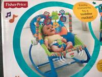 Fisher price baby to toddler bouncer rocker