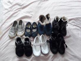 Girls shoes bundle infant size 10