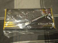 Corsair K70 LUX RGB brand new in box