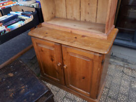 SMALL PINE CUPBOARD IDEAL SHABBY CHIC UP CYCLE IN YEOVIL