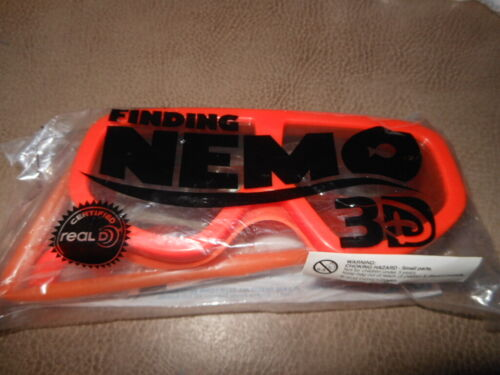 FINDING NEMO Movie Real D 3D Glasses - NEW AND SEALED