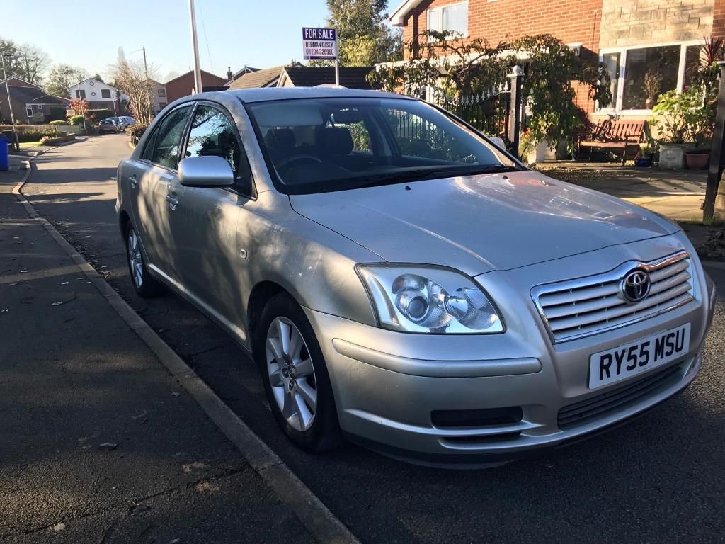 Toyota Avensis 2005 low miles only 50k, new clutch 12 months MOT