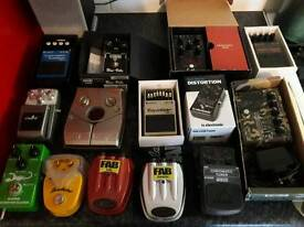 Guitar Effects Pedals!