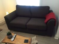 Sofa 2 seater, truffle color ** very good condition