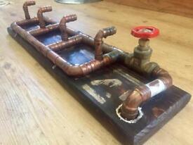 Steam Inspired Copper Coat Hook