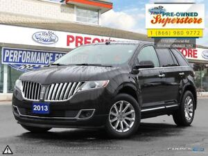 2013 Lincoln MKX >>>AWD, leather, memory seats<<<