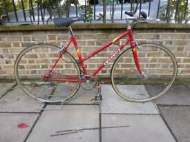 PEUGEOT LADIES BIKE RED SINGLE SPEED