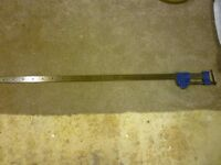 "Record 135 series sash clamp 48"" £25"