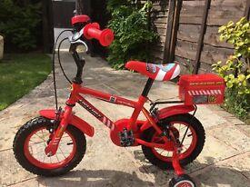 Nearly new boys' bike