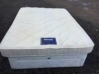 Bargain Duniopillo King Size Mattress Clean Condition, Free Delivery In Norwich,