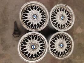 """Bmw e30 bbs sport wheels 15"""". 4x100"""