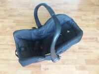 Joie Gemm 0+ Baby Car Seat - Black Carbon £15 o.n.o.
