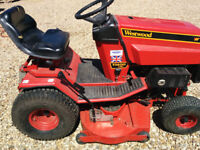 ride on lawnmower Westwood T1400 36inch cut