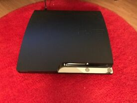 Playstation 3 slim (PS3) 160gb + controller + 7 games