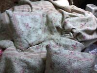 Genuine French chintz quilt