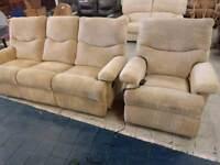 Sofa and reclaining chair