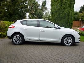 Renault Megane dci ,excellent condition, clean interior,sat nav,full service histoy and recent MOT