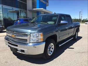 2013 Chevrolet Silverado 1500 4x4 Crew - One Owner Serviced Here