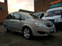 2008 58 Vauxhall Zafira Exclusive 1.6 - 7 Seater - 3 Months Warranty
