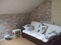 Top floor D.B. Flat Lounge/Dining/Kitchen Shower Room Walk in Wardrobe Refurbished Private House