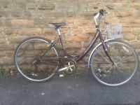 Raleigh Oakland Ladies Low step Dutch Style Hybrid Bike Basket Cheap! CHEAP