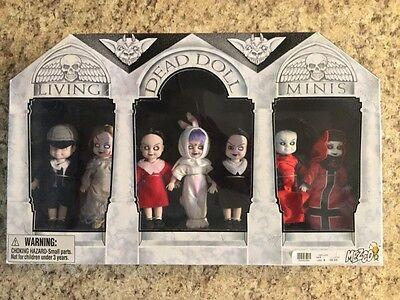 living dead dolls 7 pack minis